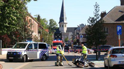 Motorrijder zwaargewond bij aanrijding in Kasteeldreef