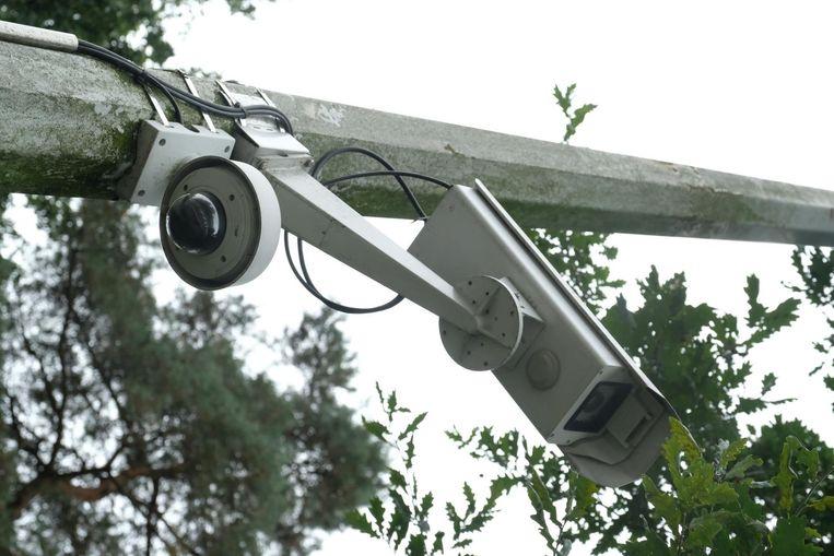 Een voorbeeld van een ANPR-camera