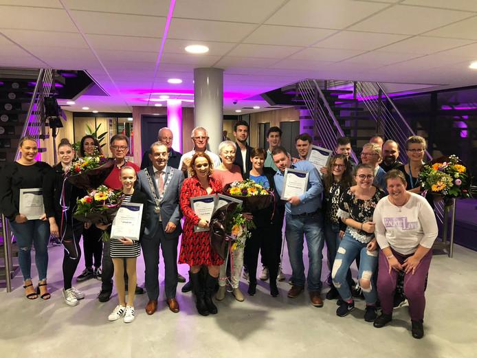 De winnaars van Waalwijk Ontmoet van 2018.