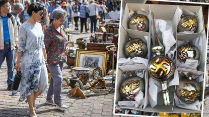 Te koop op markt in Tongeren: nazikerstballen