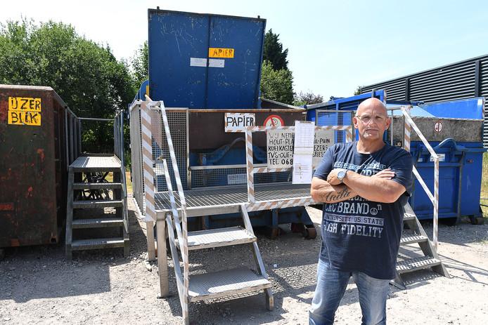 Cuijk: 05-07-2018, DG_Foto.Rien Xhofleer heeft problemen met overheidsinstanties. Zijn handel wordt daar door bedreigd.Foto: Ed van Alem