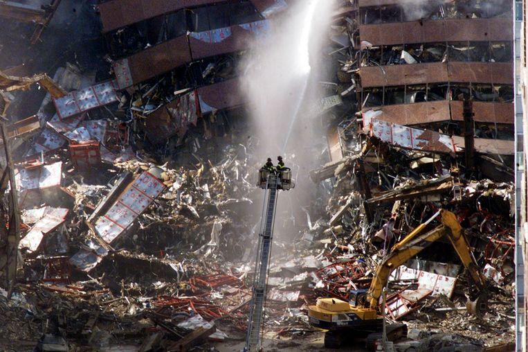 Eén gestrand koppel verloor hun zoon, een brandweerman in New York City, bij de aanslagen op de WTC-torens.