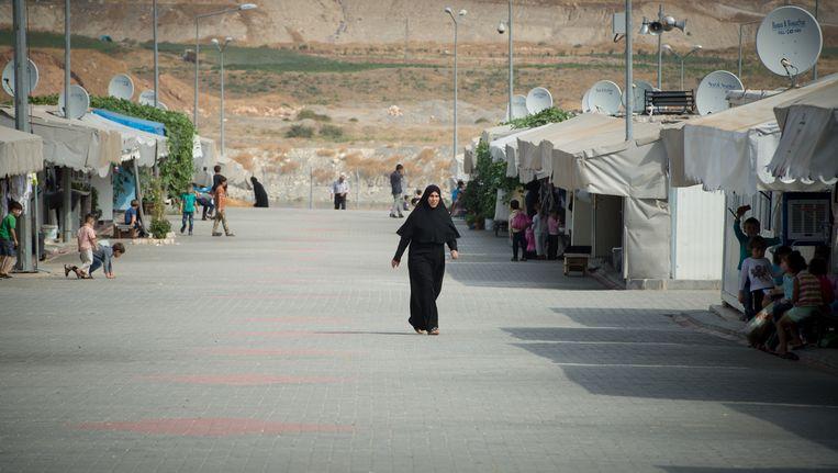 Een vluchtelingenkamp in de Turkse plaats Nizip Beeld BELGA