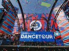 Zeven personen aangehouden bij Dancetour in Breda