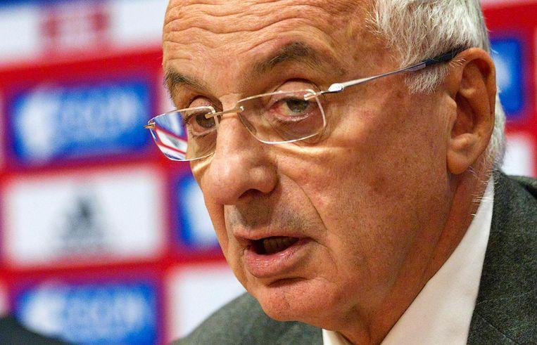 Coronel tijdens een persconferentie in 2011 Beeld ANP