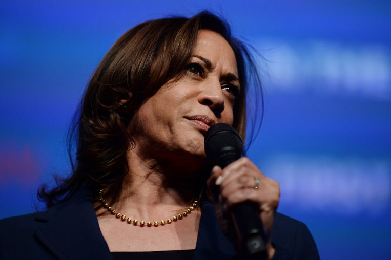Kamala Harris.  Beeld Hollandse Hoogte / AFP