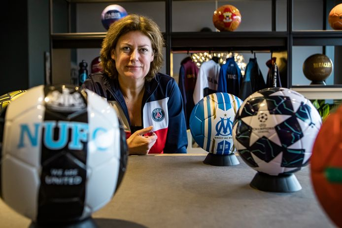Cathy Eijkelenkamp van State of Football uit Deventer.