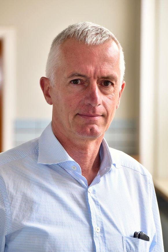 Rik Delmotte, algemeen directeur van de scholengroep KSO Tielt-Ruiselede.