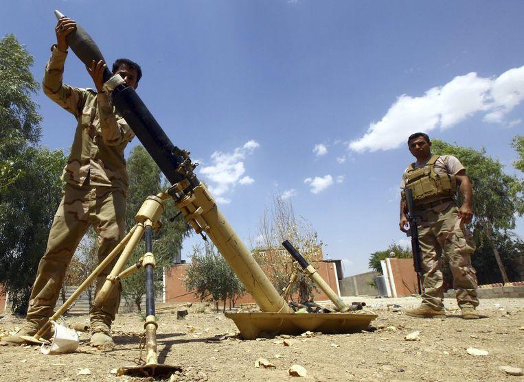 Koerdische Pesmerga-troepen in Noord-Irak. Beeld reuters