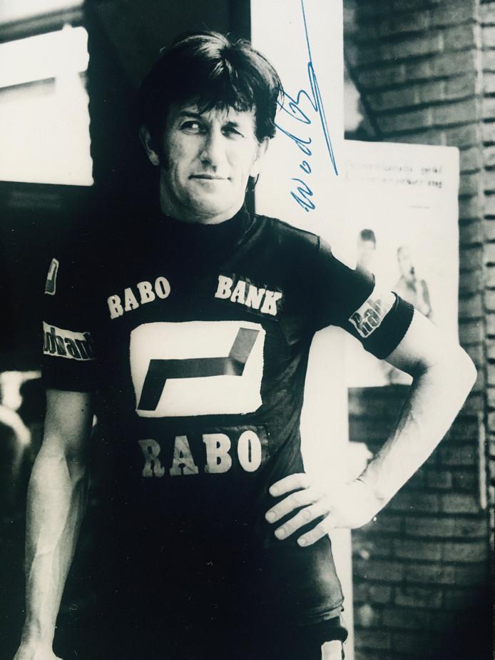 Zwarte Wout was op zijn 52ste de oudste profwielrenner van Europa, misschien zelfs van de wereld.