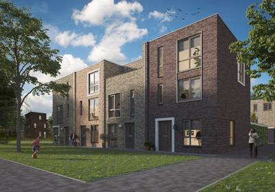 Nieuwbouw op oude Wisselslag-locatie in Breda-Noord