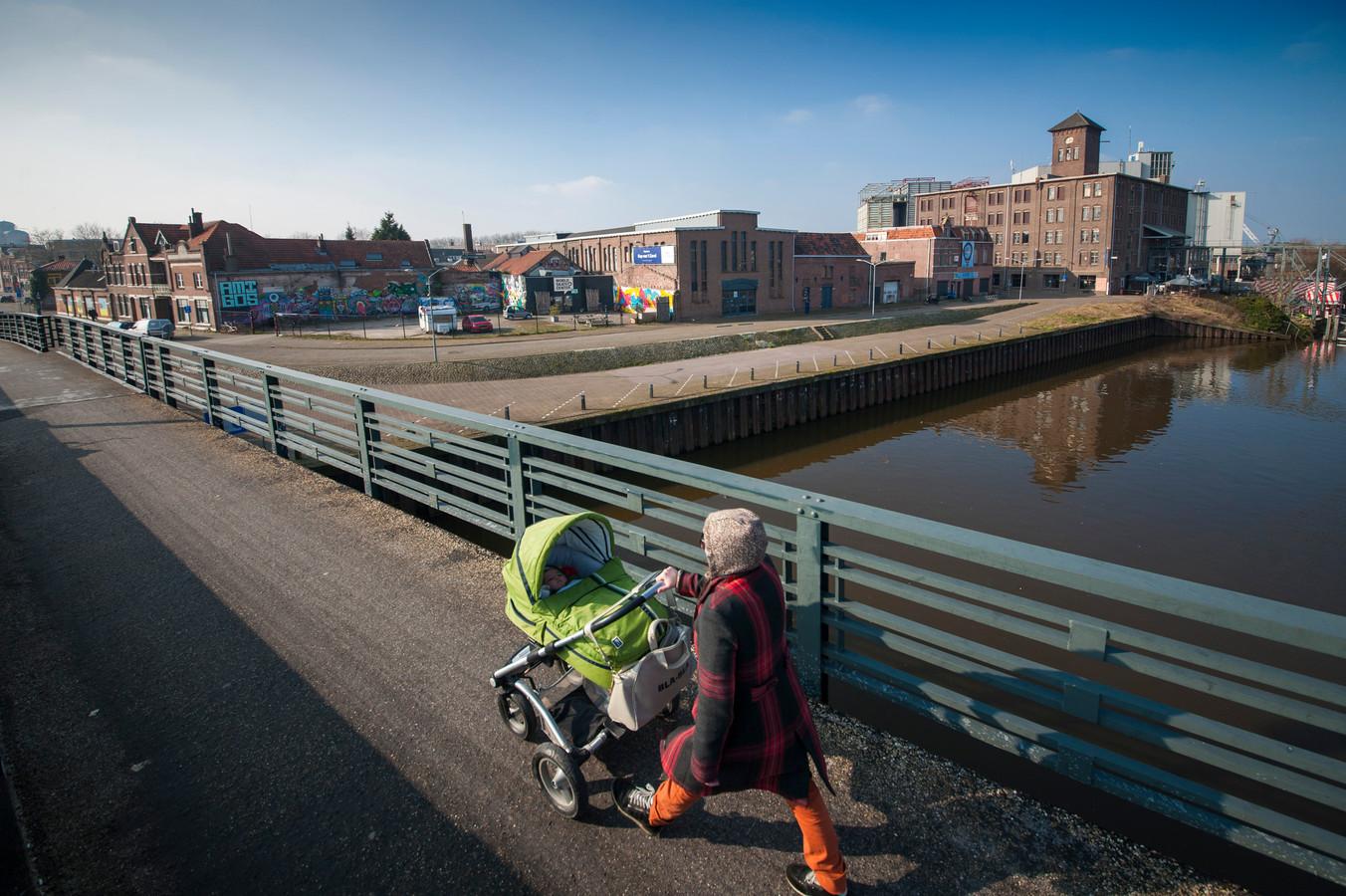 Ontwikkelingsgebied Kop van 't Zand in Den Bosch.