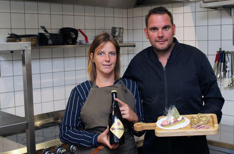 Griet Cools en (34) Bert Geuens (32) van Bistro Tilo zegden allebei hun job op om een horecazaak te starten. Maar dat was buiten corona gerekend.