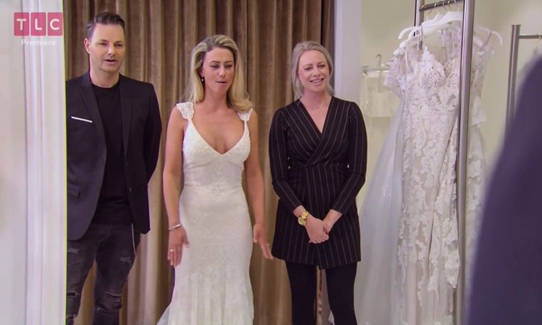 Say Yes to the Dress, TLC.  Beeld