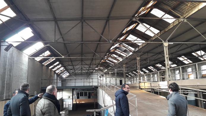 VDMA-terrein, de oude luciferfabriek in Eindhoven werd later gebruikt als overdekte parkeergarage, de eerste van Nederland.