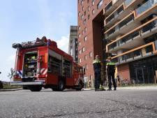 Vlam gevat stokbrood zet verdieping Nimbustoren in de rook, bewoners moeten huis uit