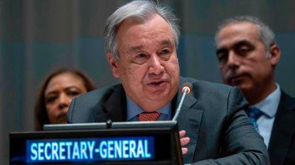 """VN-secretaris-generaal: """"Angst is het best-verkochte merk in de wereld van vandaag"""""""