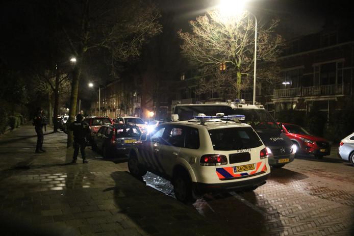 Politie in Den Haag.