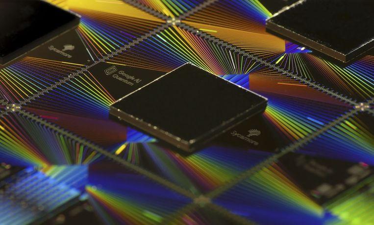 De zogenaamde Sycamore-processor van Google.