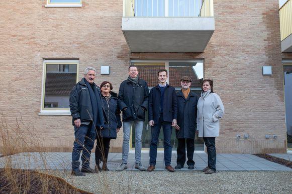 De Tieltse Bouwmaatschappij opent het nieuwbouwproject aan het Polenplein