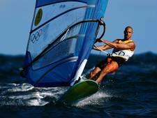 Van Rijsselberghe heeft moeite met winddraaiingen en stevige golfslag
