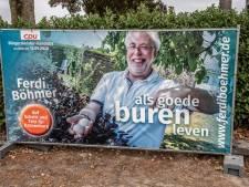 Ferdi Böhmer (CDU) is de nieuwe burgemeester van Kranenburg
