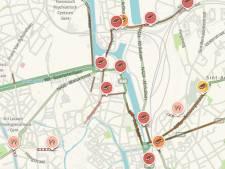 """Uitzonderlijk druk rond Gent-Dampoort: """"Problemen zullen nog even aanhouden"""""""