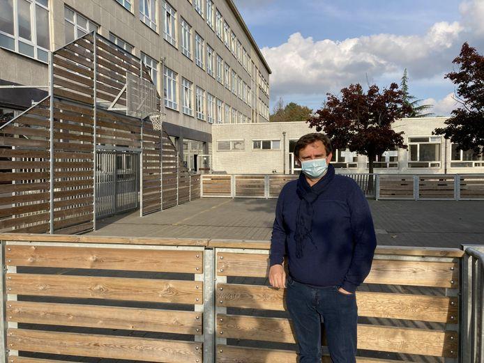 Sven Geenens, directeur van het GO! Atheneum in Lokeren, pleit ervoor om inspecties dit schooljaar te vervangen door gesprekken over de bezorgdheden van leerkrachten.