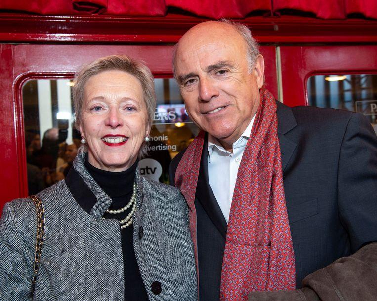 Herbert Flack met zijn partner Fabienne