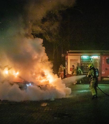 Hulpdiensten hebben handen vol aan brandjes in Den Haag en Voorburg
