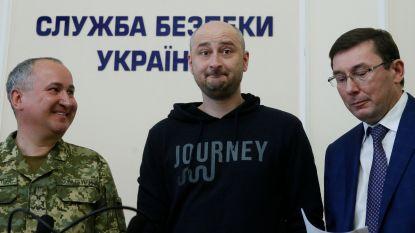 """'Vermoorde' Russische journalist leeft toch nog, dood in scène gezet: """"Eigen vrouw wist van niets"""""""