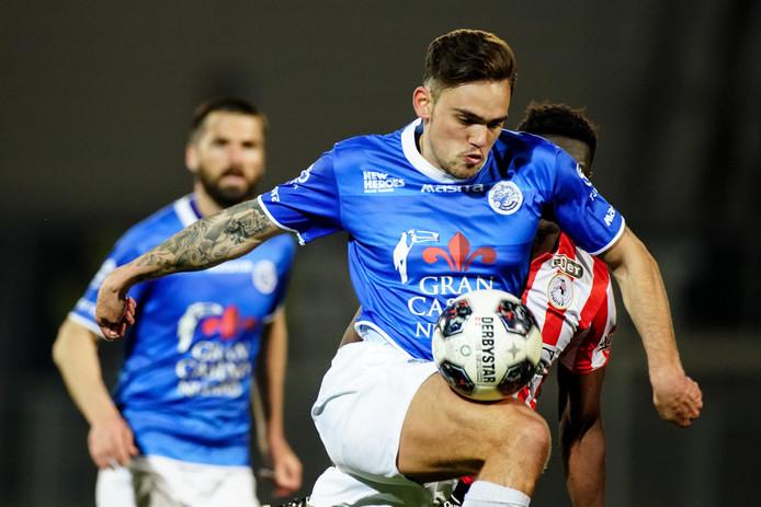 """Sam Kersten gaat met PEC Zwolle de eredivisie in. ,,Het is tijd om te laten zien dat ik hier ook mijn mannetje kan staan."""""""