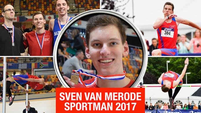 Sven van Merode. Sportman van het jaar 2017