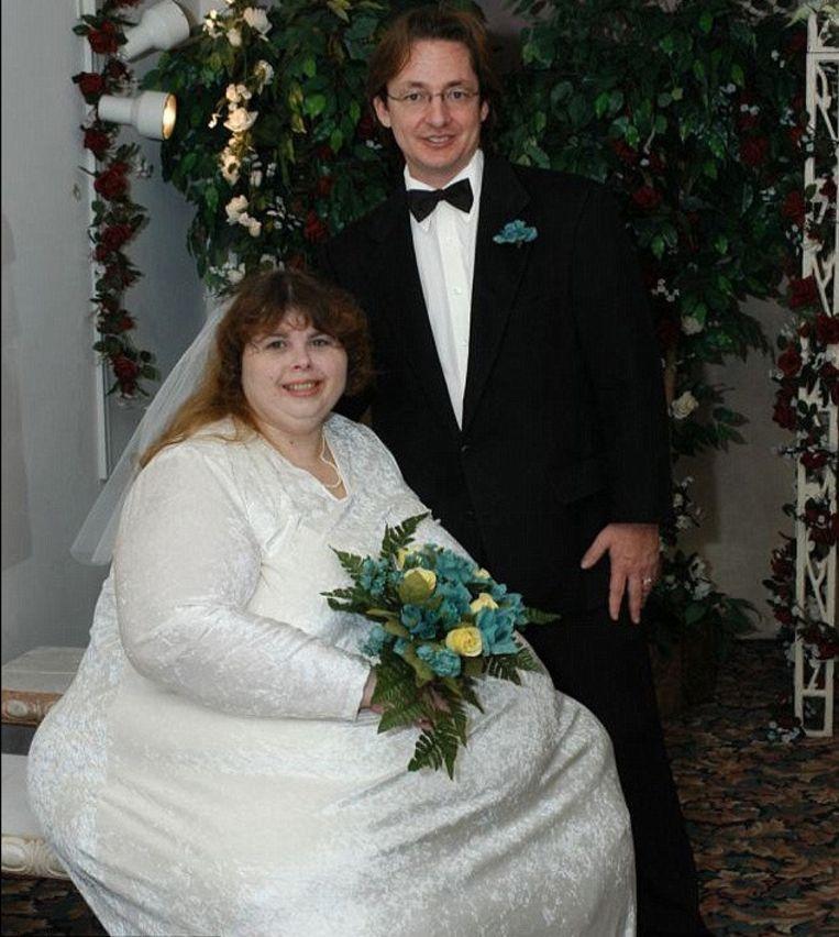 De huwelijksfoto.