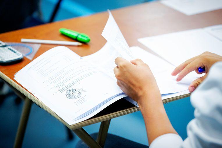 Seksuele vorming wordt vooral gegeven in de onderbouw van de middelbare school tijdens de lessen biologie. Beeld ANP