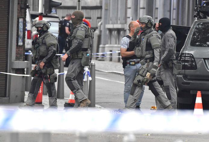 De zaak wordt onderzocht als terroristische misdrijf.