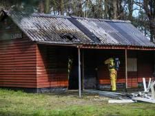 Schuur in brand bij politiehondenvereniging Eenheid Overwint in Handel