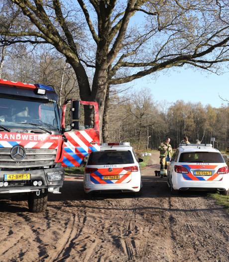 Vaten met vermoedelijk drugsafval gevonden in Schaijk