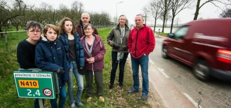 Bewoners langs N410 eisen extra verkeersmaatregelen
