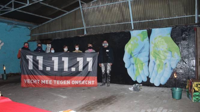 11.11.11 Dilbeek steekt inwoners en Itterbeek Idee hart onder de riem met Mural4change kunstwerk van Massi