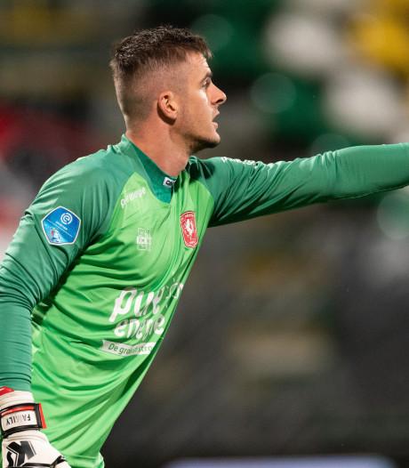 FC Twente-keeper Brondeel krijgt door schorsing weer een kans: 'Gewoon ballen tegenhouden'