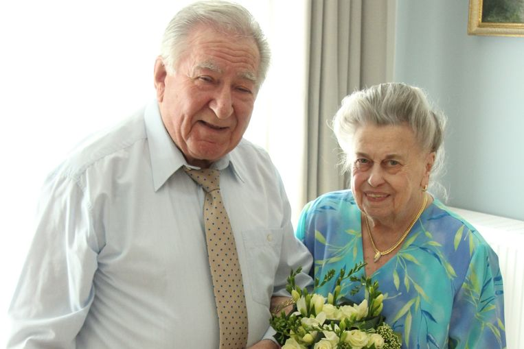 Hendrik en Maria zijn 65 jaar getrouwd.