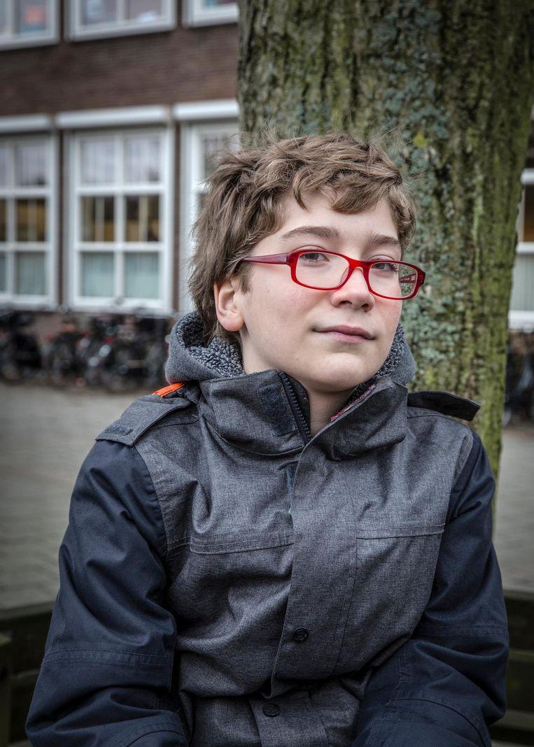 Bauke Verweij reist iedere dag naar Velsen-Zuid Beeld Dingena Mol