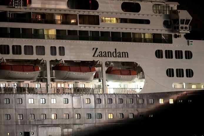 MS Zaandam.