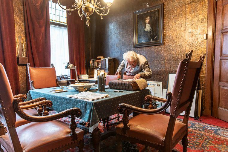 Het Pepergasthuis was eeuwenlang een toevluchtsoord voor armen, dolenden en dollen, nu wonen er vooral senioren. Beeld Harry Cock /de Volkskrant