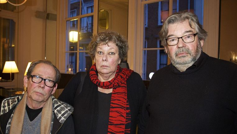 (VLNR)Vincent, Sis en Maarten van Rossem. Beeld anp