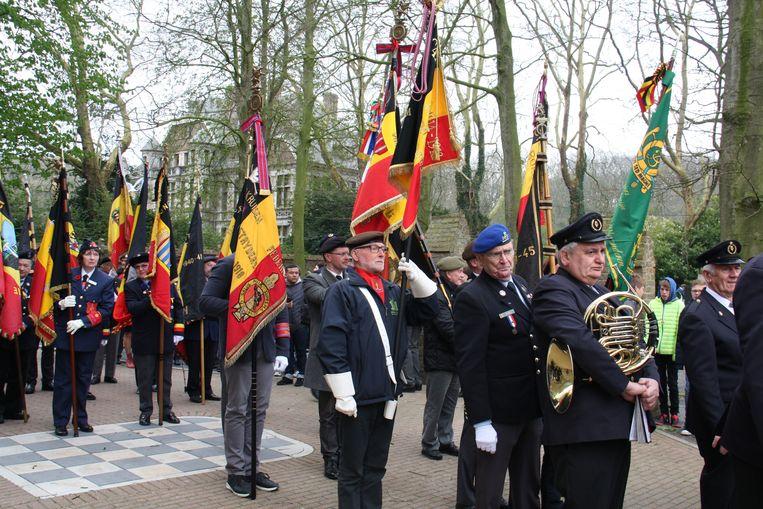 De Slag van Merkem is herdacht met het nodige eerbetoon.