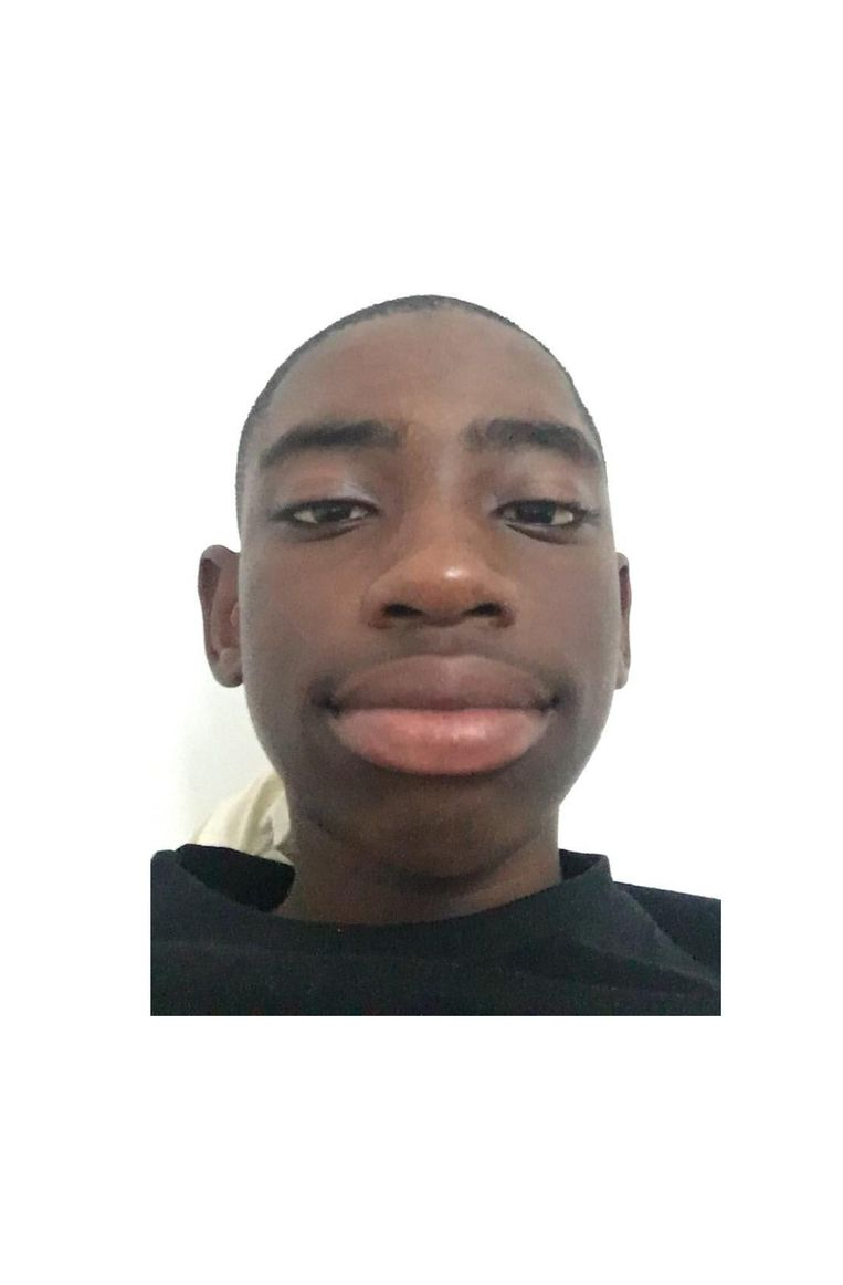 Mansur Koampah (13). Beeld PRIVÉFOTO