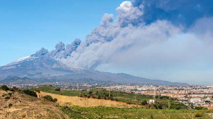Uitbarstingen Etna houden ook op kerstdag aan: gat van 2 kilometer in vulkaan