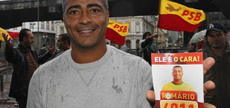 Neymar ziet Romário graag gouverneur worden in Rio
